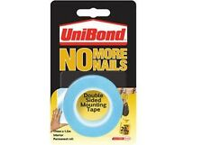Unibond No More Nails - Double Sided Tape Roll - Blue Interior