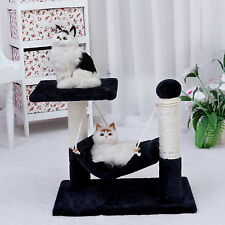Cat Tree Scratching Post Pet Gym House Condo Furniture Poles Giant 38cm Blue