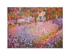 Claude Monet Künstlergarten in Giverny Detail Poster Kunstdruck Bild 24x30cm