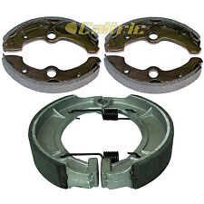 FRONT & REAR BRAKE SHOES YAMAHA BIG BEAR 350 YFM350FW YFM350FWB 1996 1997 1998