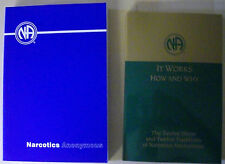 """Narcotics Anonymous Collection """"Basic Text"""" and """"It Works: How and Why"""" **NEW**"""