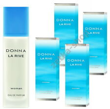 4x90ml = 360ml !!!  DONNA LA RIVE WOMAN Eau De Parfum Natural Spray TOP HIT !!!