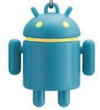 Google HTC Android Reactor Robot Figure Cellphone Strap Droid Toy  Blue