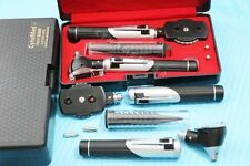 New Professional LED- Mini Opthalmoscope Otoscope Fibre-Optic Diagnostic Set