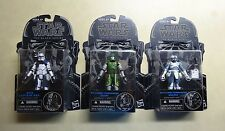 Hasbro Star Wars The Black Series Clone Commander Wolffe Doom & Captain Rex Set