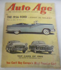 Auto Age Magazine The 1956 Ford First In Sales January 1956 050914R