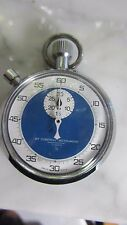 Vintage Antique Compass Instrument Mechanical Swiss Timer Stop Watch