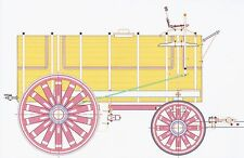 Horse Drawn Tank Wagon - 1:24 G Scale Model Plan-Set Drawings
