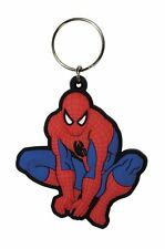 MARVEL SPIDERMAN CROUCHING RUBBER KEYRING NEW OFFICIAL MERCHANDISE