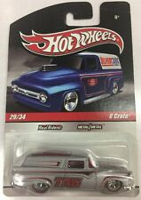 2009 Hot Wheels Slick Rides 29/34 Delivery 8 Crate TRW w/RR Real Riders. New.