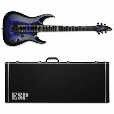 ESP E-II Horizon QM/FR Reindeer Blue RDB Electric Guitar + HARD CASE B-Stock E2