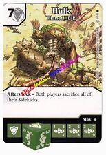 055 HULK Planet Hulk -Common- THE AMAZING SPIDER-MAN Marvel Dice Masters