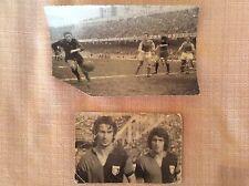 GENOA CALCIO 2 FOTO TURONE E SPEGGIORIN ANNI '70 E GENOA - SPAL ANNI '50 - '60