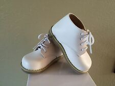 Walking Toddler Shoes White Leather Boy Girls US Size 3 Compared Stride Rite