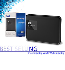 WD My Passport Ultra 2015 2TB Portable External Hard Drive USB 3.0 HDD BLACK