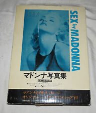Sex by Madonna Japanese Edition Mostly written in English