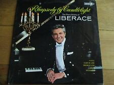 LIBERACE - RHAPSODY BY CANDLELIGHT  - LP/RECORD - CORAL - CPS 29 - UK