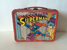1967 King-Seeley SUPERMAN Lunchbox National Periodical Publications Vintage