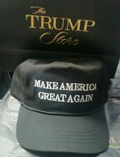 Trump authentic campaign Make America Great Again from Trump Store Black hat cap