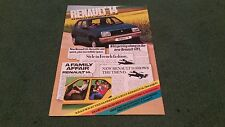 1978 RENAULT 14 EXTRA! EXTRA! READ ALL ABOUT IT- UK BROCHURE