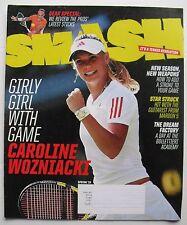 CAROLINE WOZNIACKI Girly Girl With Game!  Spring 2010 SMASH Tennis Magazine