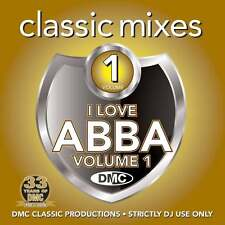 DMC ABBA Megamixes & 2 Trackers Mixes Remixes Ft Dina Carroll DJ CD Gold Cover