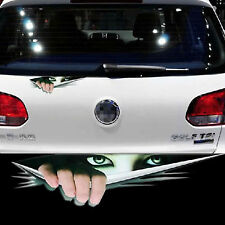MONSTER PEEKING Funny Car Van Bumper Window JDM VW EURO Vinyl Sticker Decal 3D
