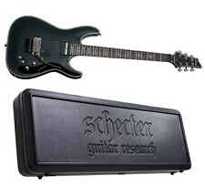 Schecter Hellraiser C-1 FR-S Sustainiac BLK *NEW* Black - FREE HARD SHELL CASE!