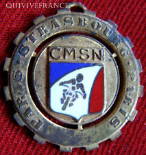 BG5134 - MEDAILLE PARIS-STRASBOURG-PARIS CLUB MOTOCYCLISTE SURETE NATIONALE