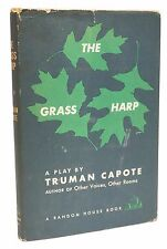 The Grass Harp A Play First Edition Truman Capote Rare Book 1st Issue 1952