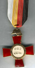 Spagna Medaglia Militare 25 Anni Pace 1964 Tipo 948 Associazione Ex-combattenti