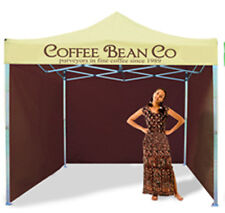 MOBILE CATERING TRAILER ALUMINIUM FRAME GAZEBO COFFEE STAND BAR FAST FOOD EVENTS