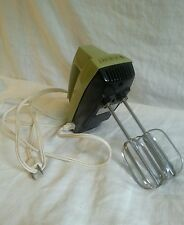 VTG Avocado Green Hand Mixer Iona Brand Works Prop Photo Shoot Decorative Kitsch