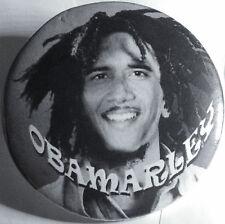2009 Obama Bob Marley Presidential Campaign Inauguration Button Rare NoneOnEbay