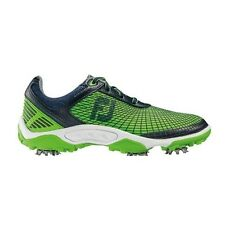 FOOTJOY JUNIOR SCARPE DA GOLF #45098 UK 2 2015 Verde/Blu Marino