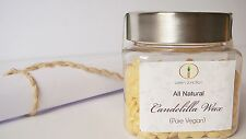 ★Green Junction's 100% Pure Candelilla Wax - 50 gms  (Pellets) in Jar ★