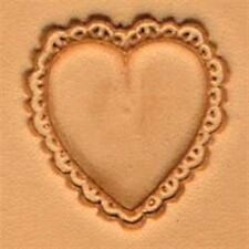 8332 Heart Craftool 3-D Stamp Tandy Leather 88332-00