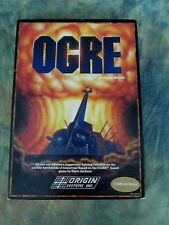 Commodore 64 Ogre Steve Meuse Origin Systems Inc. Game Com-64 Disk