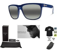 NEW Electric Knoxville XL Alpine Blue Gradient Square Mens Sunglasses Msrp$120