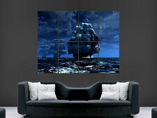 SHIPS AT ROUGH SEA  WALL POSTER ART PICTURE PRINT LARGE  HUGE