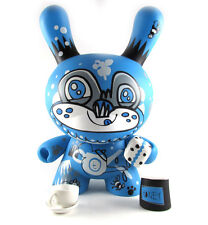 "Kidrobot Dunny 8 Inch Tea Bear By Jon Burgerman 8"" 3 Bear Series Tado ILovedust"