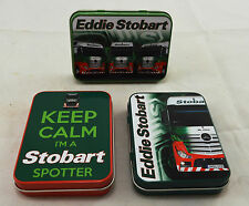 Job Lot Eddie Stobart Advertising/Keepsake Tins Garage/Workshop Tobacco HGV NEW!