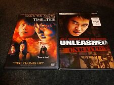 TIME AND TIDE & UNLEASHED-2 ACTION movies-JET LI is violent killing machine