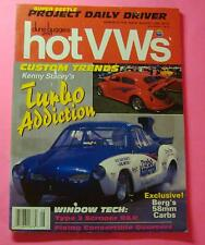 DUNE BUGGIES AND HOT VWs MAGAZINE AUG/1993..KENNY STACEY'S TURBO ADDICTION GHIA