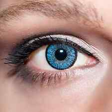 Blaue Kontaktlinsen farbige Hellblaue Linsen Blau Blue Colour Contacts Lens;K201