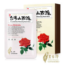 [LOVEMORE] Rosa Hybrida Whitening Facial Silk Mask Sheet 5pcs/1box NEW