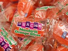 Brach's Mandarin Orange Slices 4 POUNDS Bulk Wrapped Jelly Candy FREE SHIPPING