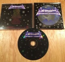 Metallica - Greatest Live Hits CD Australian pressing LTD ED of 1000 megadeth