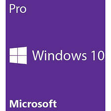 New Sealed Microsoft Windows 10 Pro 64 Bit System Builder OEM FQC-08929 Win10