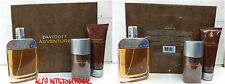 ADVENTURE BY DAVIDOFF 3 PC SET 3.4 OZ SPRY + AFTERSHAVE 2.5 OZ+ DEODORANT 2.4 OZ